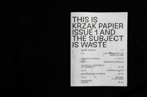 Krzak Papier Issue 1