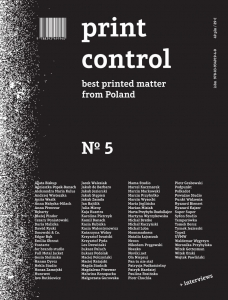 Print Control No 5 Best printed matter from Poland / rocznik